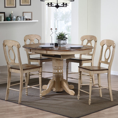 Sunset Trading Brook 5 Piece Pub Table Set