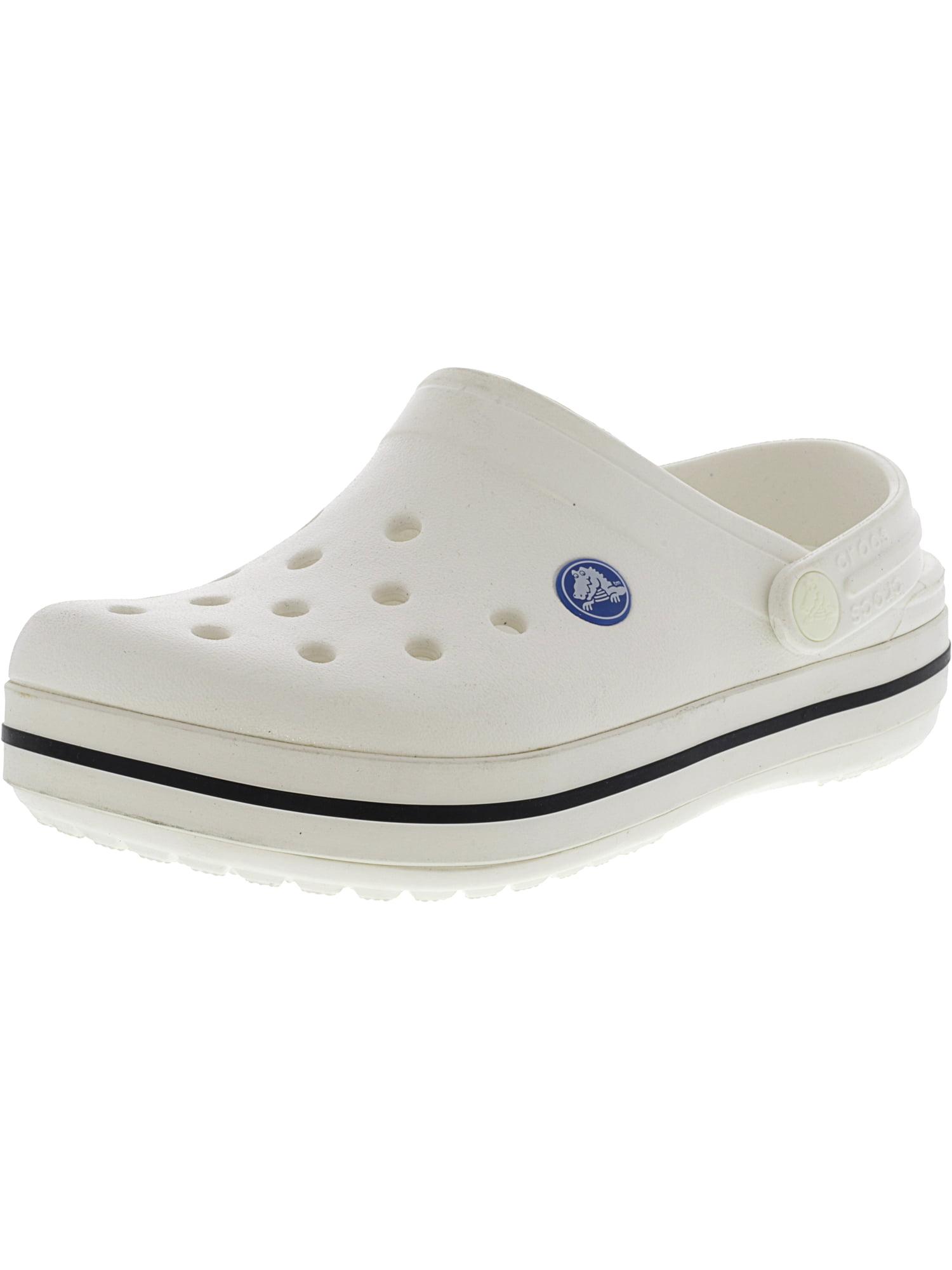 Crocs Kids Crocband Clog White Clogs - 2M