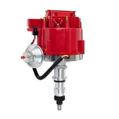 A-TEAM HEI DISTRIBUTOR FORD, 240 and 300 ENGINES, RED CAP F100 F150 F250 E150