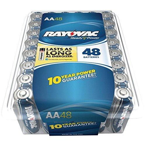 Rayovac General Purpose Battery - Aa - Alkaline - 48 Pack (815-48pptf)