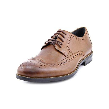 Stacy Adams Garrison Men W Wingtip Toe Leather Brown Oxford