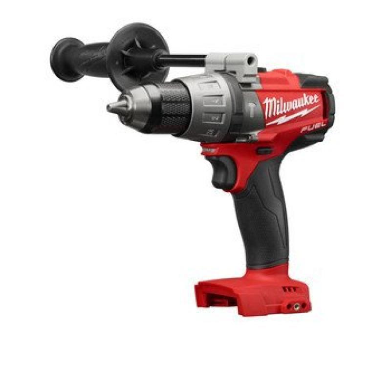 Milwaukee 2704-20 M18 FUEL 1/2 Hammer Drill/Driver (Bare Tool)-Peak Torque = 1,200