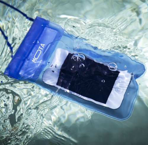Mota Underwater Case For Pda, Ipod, Iphone, Smartphone - Blue - Water Proof, Dirt Proof, Snow Proof, Dust Proof (mt-wpc-bu)
