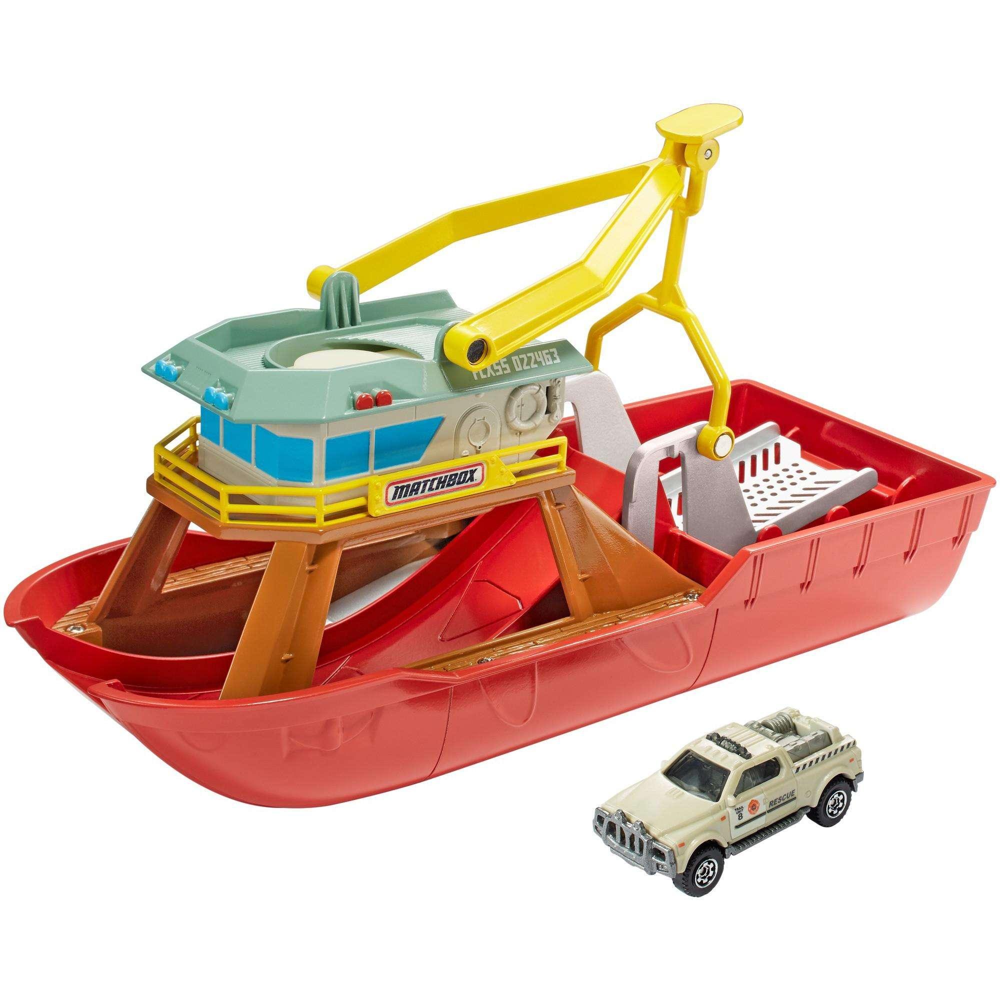 Matchbox Dunk 'n' Launch Boat by Mattel