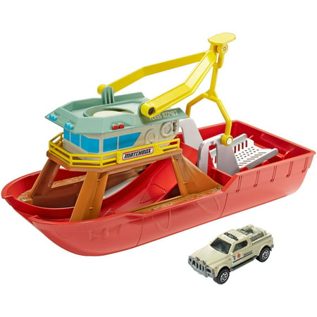 Matchbox Dunk 'n' Launch Boat - Launch Springs