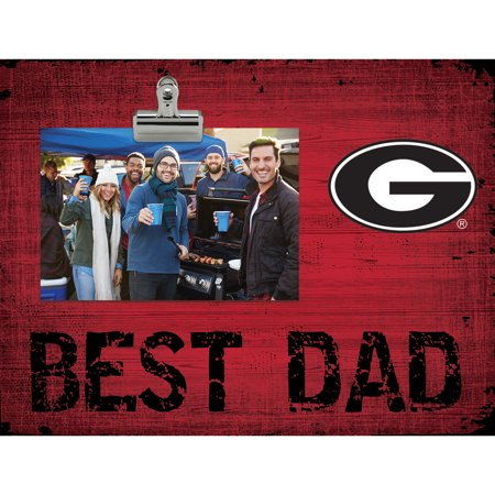 Georgia Bulldogs 8'' x 10.5'' Best Dad Clip Frame - No