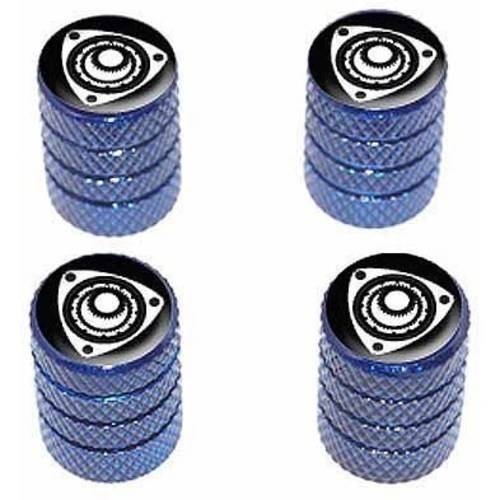 Rotary Rotor Engine RX-8 RX-7 Tire Rim Wheel Aluminum Valve Stem Caps, Multiple Colors