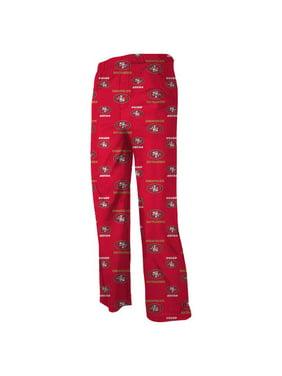 San Francisco 49ers Toddler Allover Logo Flannel Pajama Pants - Scarlet
