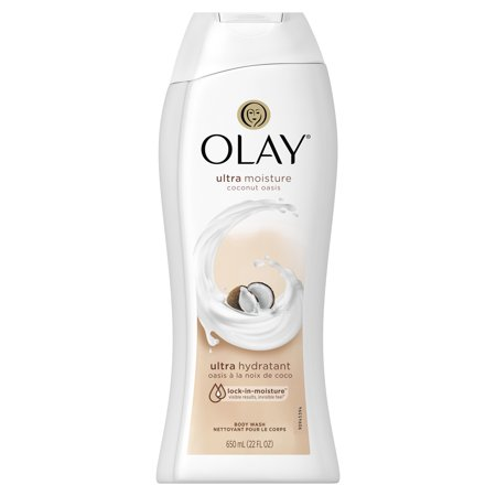 Olay Ultra Moisture Coconut Oasis Body Wash, 22 oz