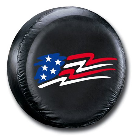 American Flag Spare Tire Cover Designer Tire Cover Flag