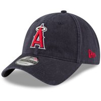 7e30e5460e5263 Product Image Los Angeles Angels New Era Core Classic Secondary 9TWENTY  Adjustable Hat - Navy - OSFA