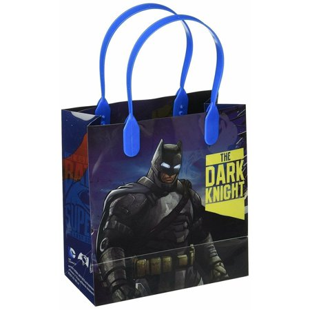 Batman vs Superman Dawn Justice Party Favor Goodie Small Gift Bags 12](Batman Party Bags)