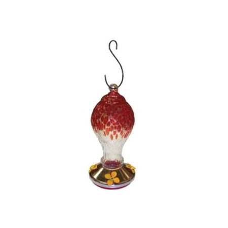 Gardman Teardrop Hummingbird Feeder, Red