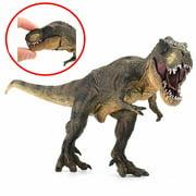 Vivid Tyrannosaurus Rex Jurassic Dinosaur Toy Figure Animal Model Kid Play Gift 12.60''*4.72''