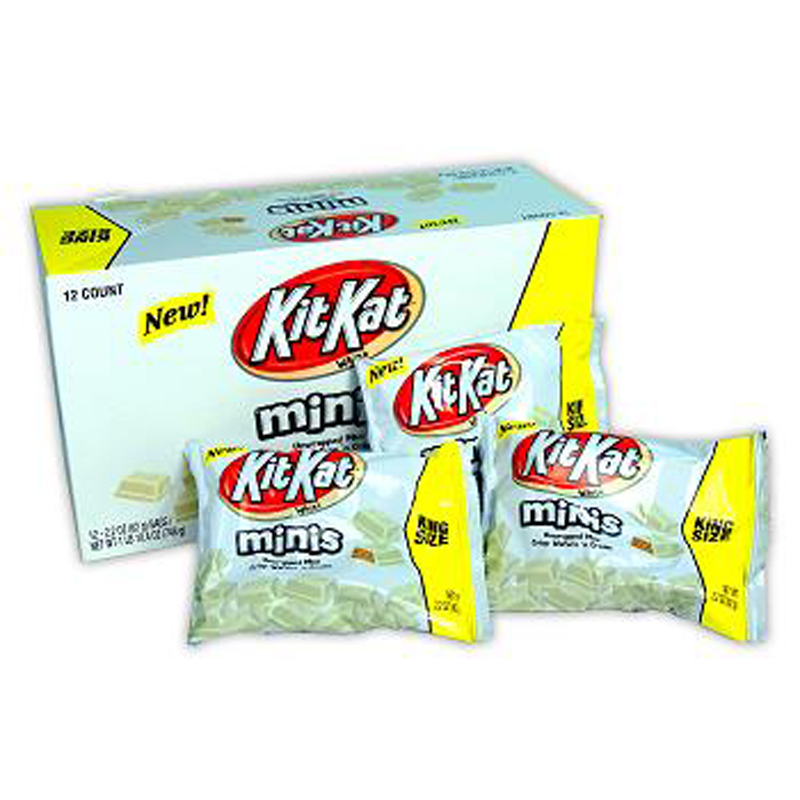 Product Of Kit Kat, King Size Crisp Wafers White Mini, Count 12 (2.2 oz) - Chocolate Candy / Grab Varieties & Flavors