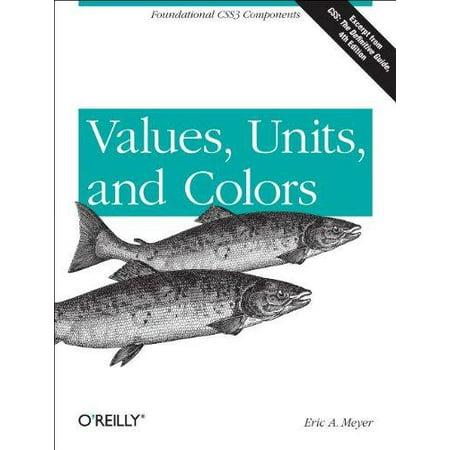 Values, Units, and Colors - image 1 de 1