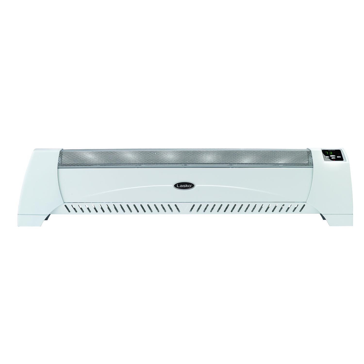 Lasko Silent Heater with Digital Display, White