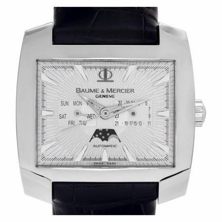 Pre-Owned Baume & Mercier Hampton UNKNOWN Steel  Watch (Certified Authentic & Warranty)