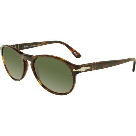 Persol Women's PO2931S-24/31-53 Tortoiseshell Oval Sunglasses