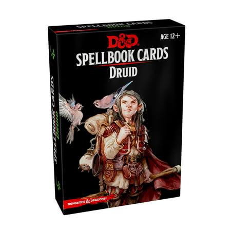 Spellbook Cards: Druid - Origins Of Halloween Druids