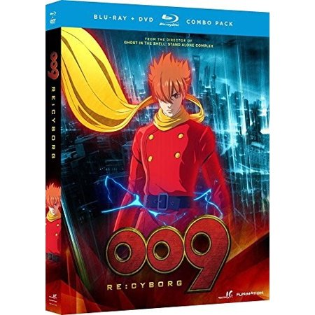 009 Re: Cyborg - Anime Movie (Blu-ray + DVD) - L'halloween Dessin Anime