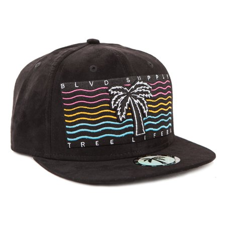 BLVD Supply Men's Sunsetter Casual Adjustable Baseball Snapback Cap ()