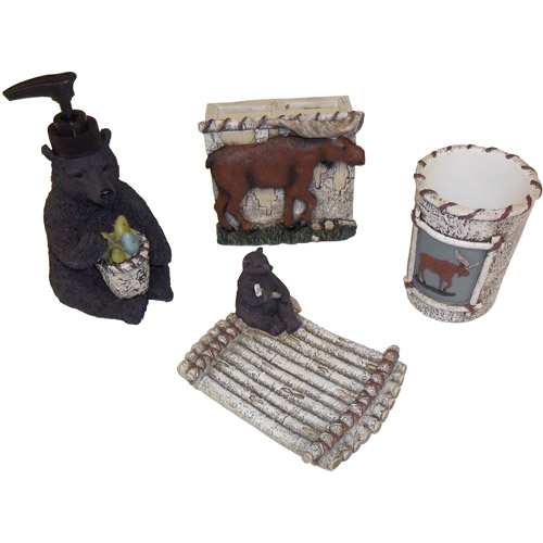 Mainstays Timber Ridge 4-Piece Accessory Set