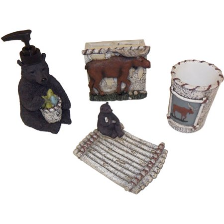 Mainstays Timber Ridge 4 Piece Accessory Set