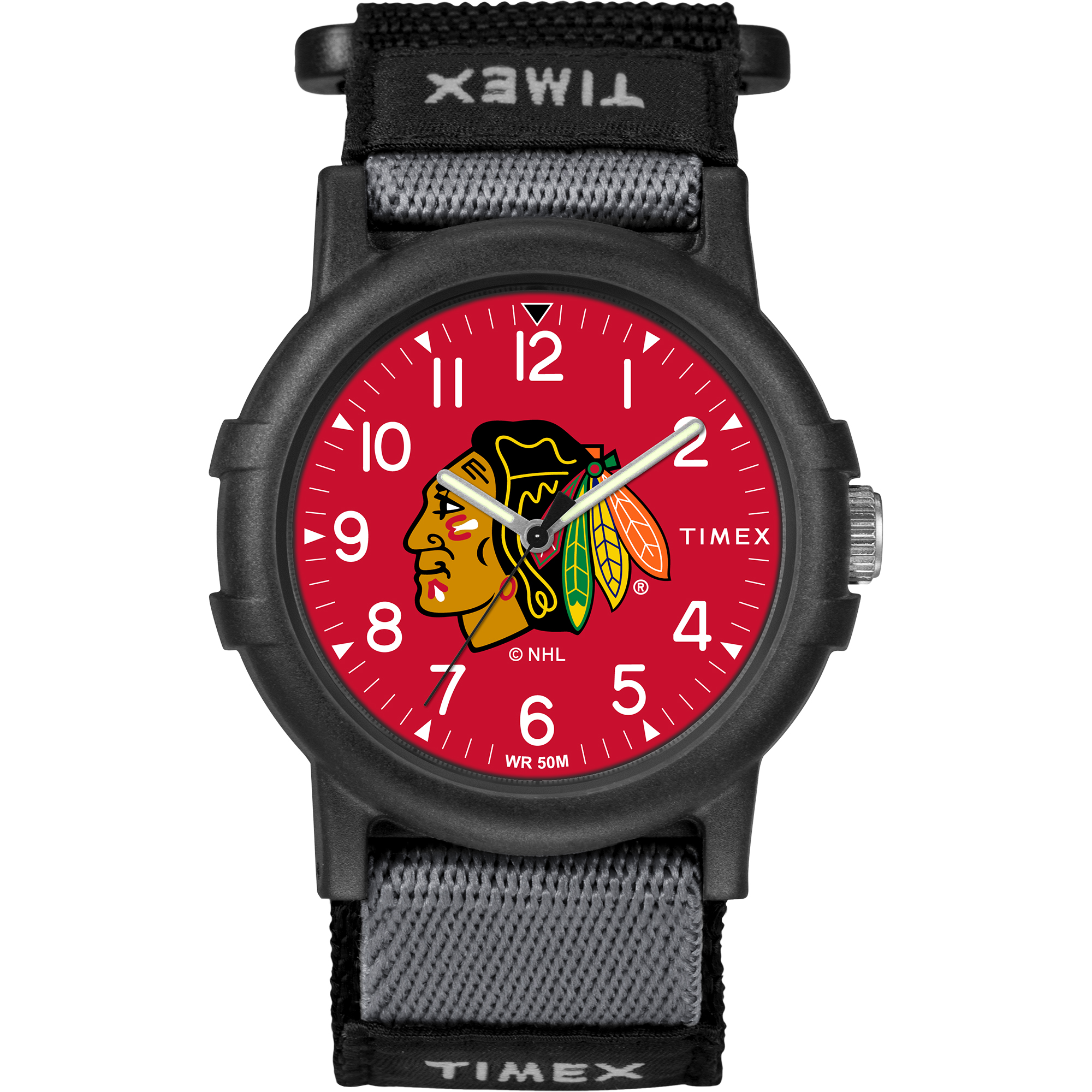 Timex - NHL Tribute Collection Recruite Youth Watch, Chicago Blackhawks