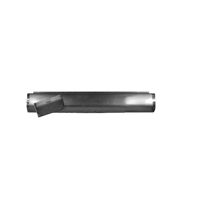 Airbagit ROL-RP-057FAB 1993 - 2010 Ford Ranger Fabricated Rear Steel Rollpan With License