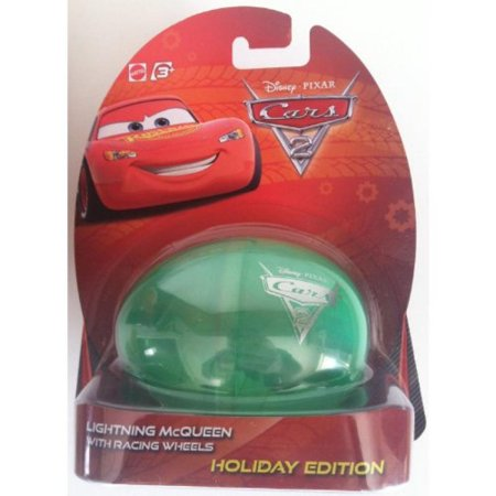 Disney Pixar Cars 2 Holiday Edition 2012 Egg Lightning McQueen (Disney Eggs)