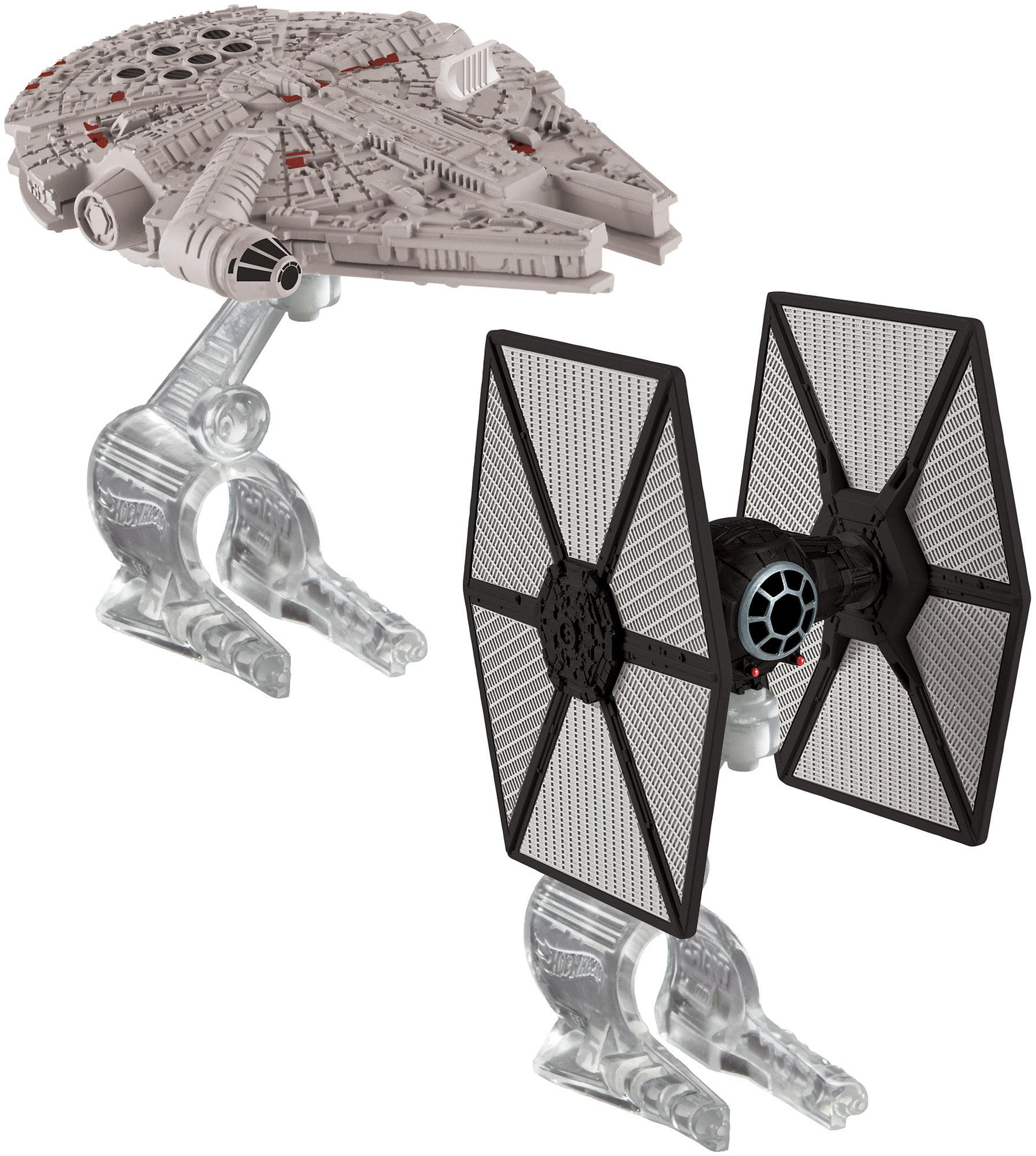 Hot Wheels Star Wars First Order Tie Fighter vs. Millennium Falcon by Mattel