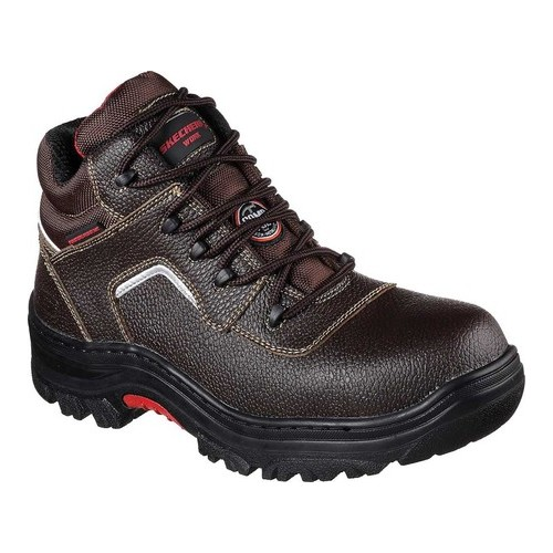 Men's Skechers Work Relaxed Fit Burgin Sosder Comp Toe Boot by Skechers