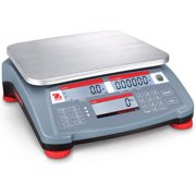 OHAUS Counting Scale,Digital,30kg/60 lb. RC31P30