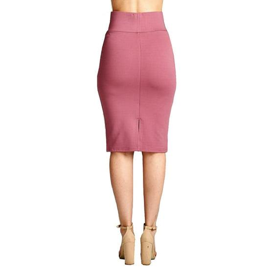 f0043074e Genx - Ponte Pencil Skirt-S-Navy - Walmart.com