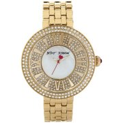 Women's Gold Crystallized Watch BJ00343-02