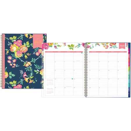 Day Designer for Blue Sky 2019 Weekly & Monthly Planner, Twin-Wire Binding, 8.5