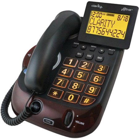 Clarity 54505.001 Alto Plus Amplified Corded Phone (Channel Plus Telephone)