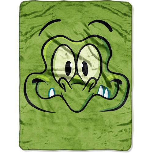 "Disney Where's My Water Big Face Swampy 60"" x 46"" Micro Throw"