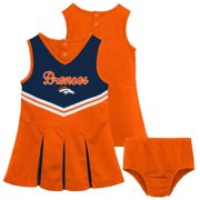 NFL Denver Broncos Toddler Cheerleader Set