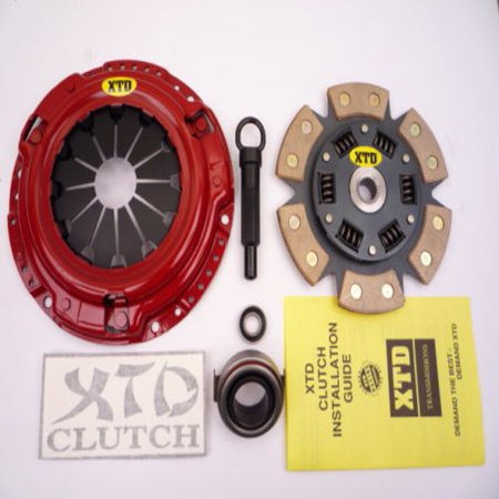 XTD STAGE 3 CERAMIC CLUTCH KIT TOYOTA MR2 CELICA CAMRY 2.2L 4CYL (4cyl Clutch)