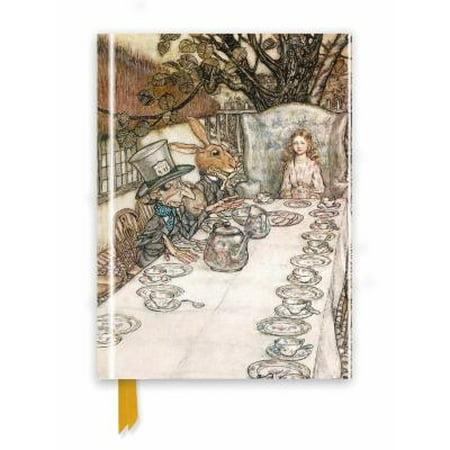 Rackham: Alice in Wonderland Tea Party (Foiled Journal)