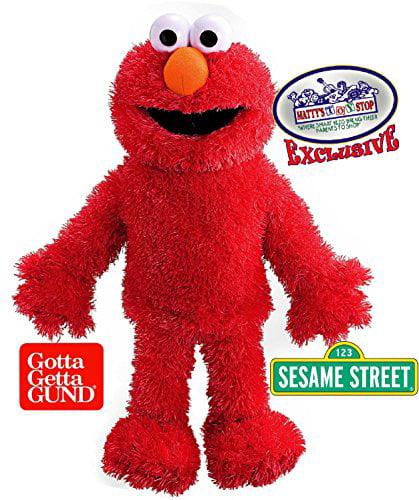 "GUND Sesame Street Elmo Plush 15"" Full Body Hand Puppet by GUND"