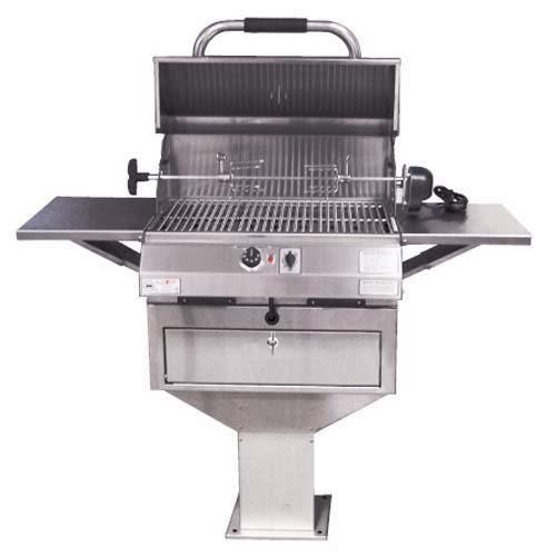 Electri-Chef Deluxe Pedestal Electric Grill by Electri - Chef Grill