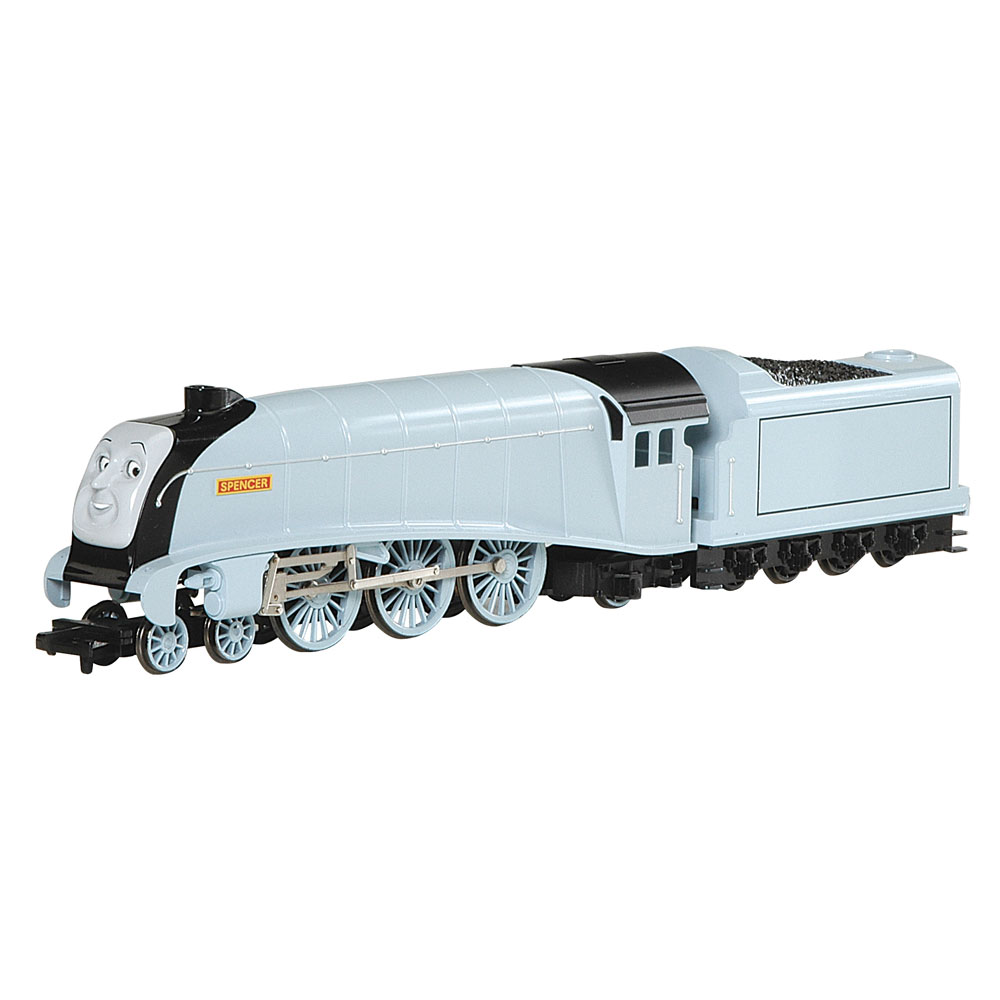 Bachmann Trains Thomas and Friends Spencer Engine HO Scale Train w/ Moving Eyes