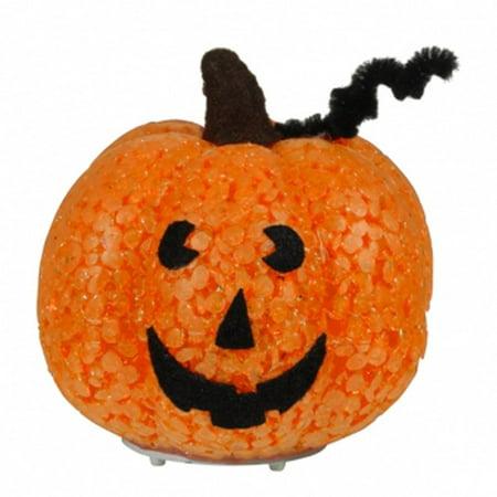 Light-up Pumpkin By, PLastic/LED light/metal By Grasslands Road](Grasslands Road Halloween)