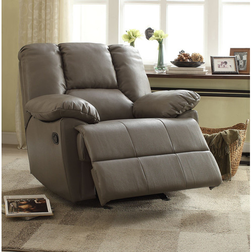 A&J Homes Studio Moss Manual Glider Recliner by