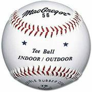 MacGregor #56 Official Tee Ball White