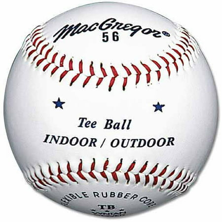 MacGregor #56 Official Tee Ball White