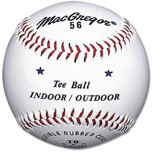 MacGregor #56 Official Tee Ball, White